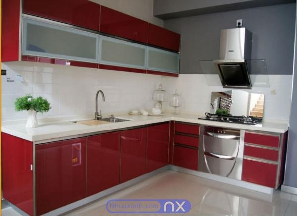 Tủ bếp nhựa cao cấp gải pháp toàn diện cho không gian bếp